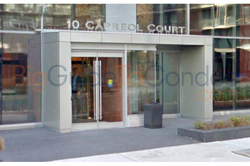 10 Capreol Court Toronto Floor Plans