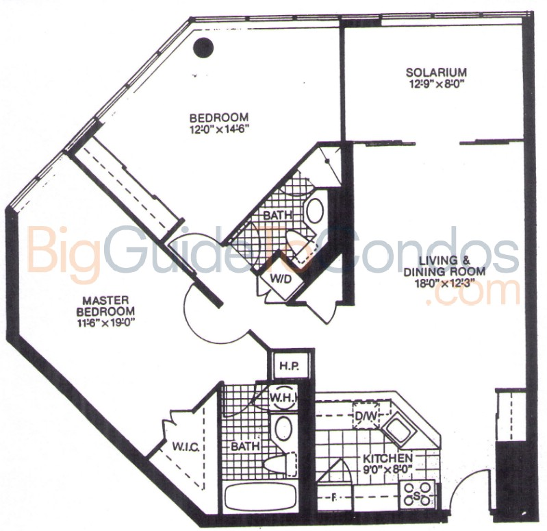1001 bay street reviews pictures floor plans listings for Floor plans 761 bay street
