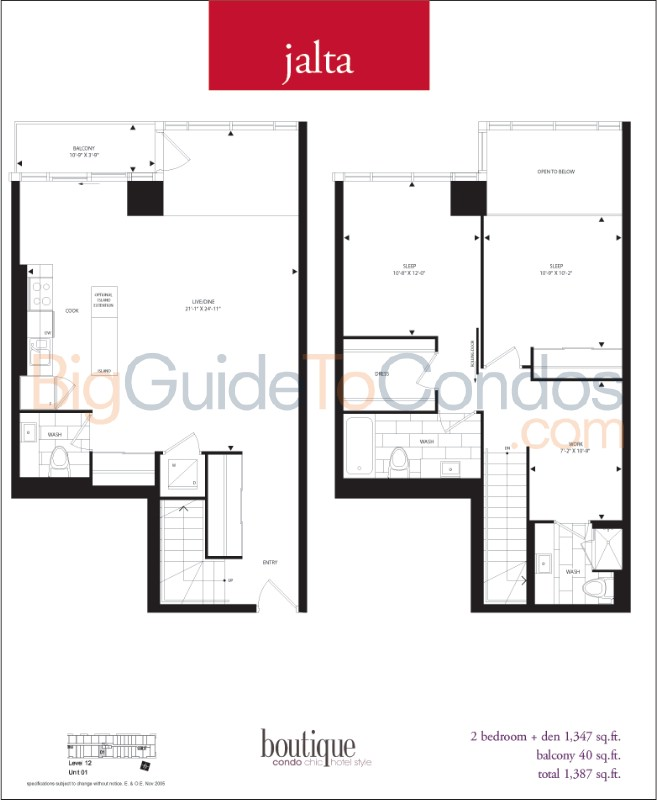 126 simcoe street reviews pictures floor plans listings for 126 simcoe floor plan