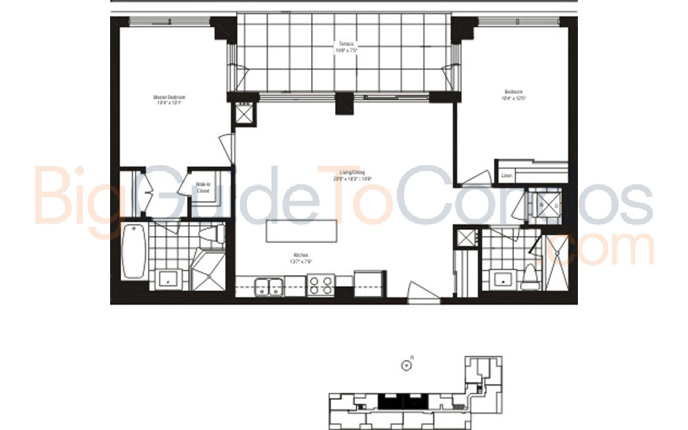 90 Broadview Floor Plans
