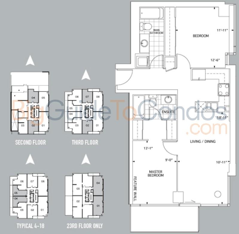 22 wellesley street east reviews pictures floor plans. Black Bedroom Furniture Sets. Home Design Ideas