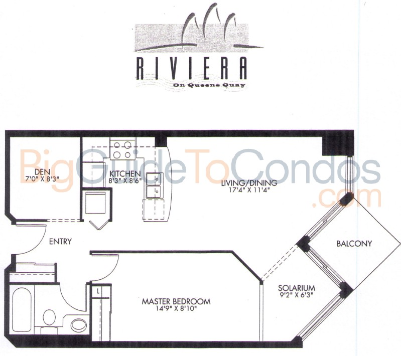 228 230 Queens Quay W Reviews Pictures Floor Plans Listings – King Of Queens House Floor Plan