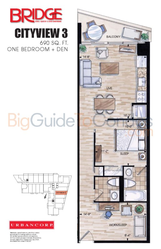 20 Joe Shuster Way Floor Plans Best Free Home Design