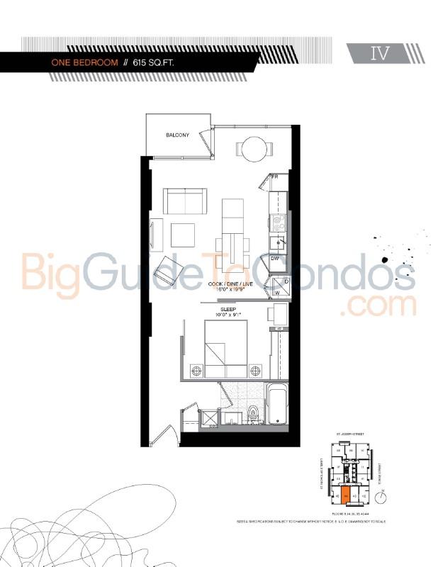 5 st joseph street reviews pictures floor plans listings for 18 yonge st floor plans