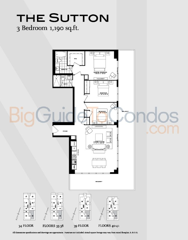 955 bay street reviews pictures floor plans listings for Floor plans 761 bay street