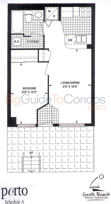 Stadium road south beach townhomes reviews pictures floor for Beach townhouse designs