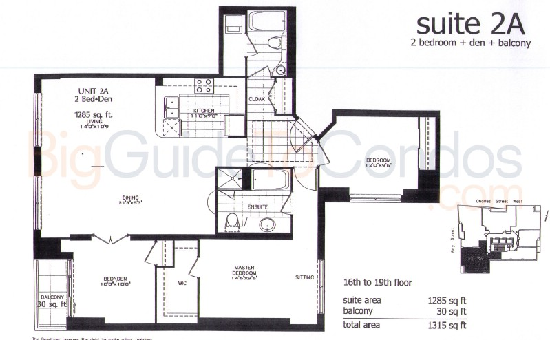 1121 bay st reviews pictures floor plans listings for Floor plans 761 bay street