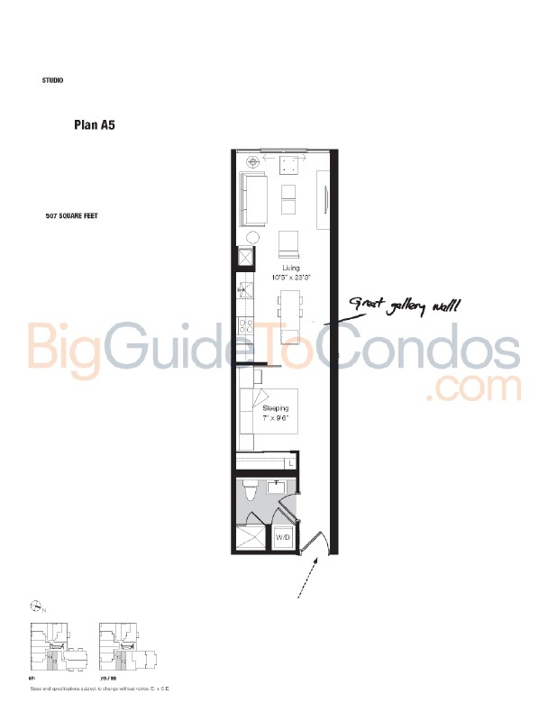 8 Dovercourt Floor Plans