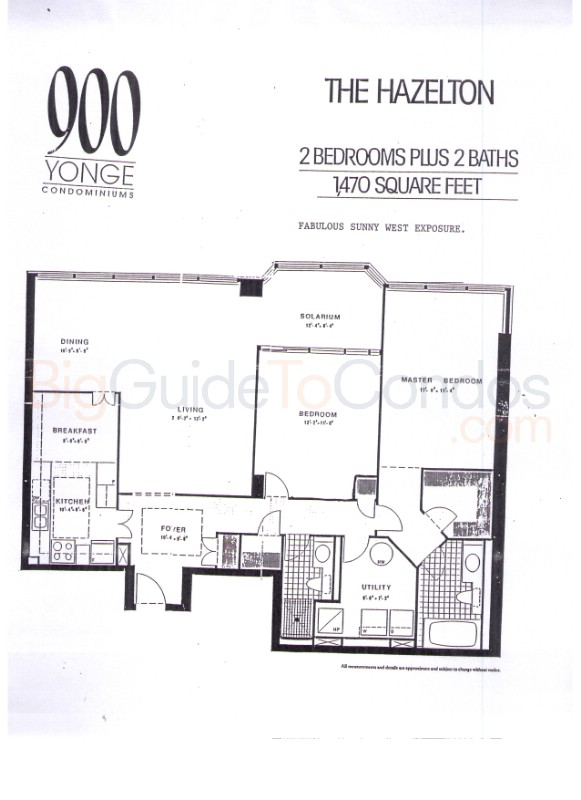900 yonge st reviews pictures floor plans listings for 18 yonge street floor plan
