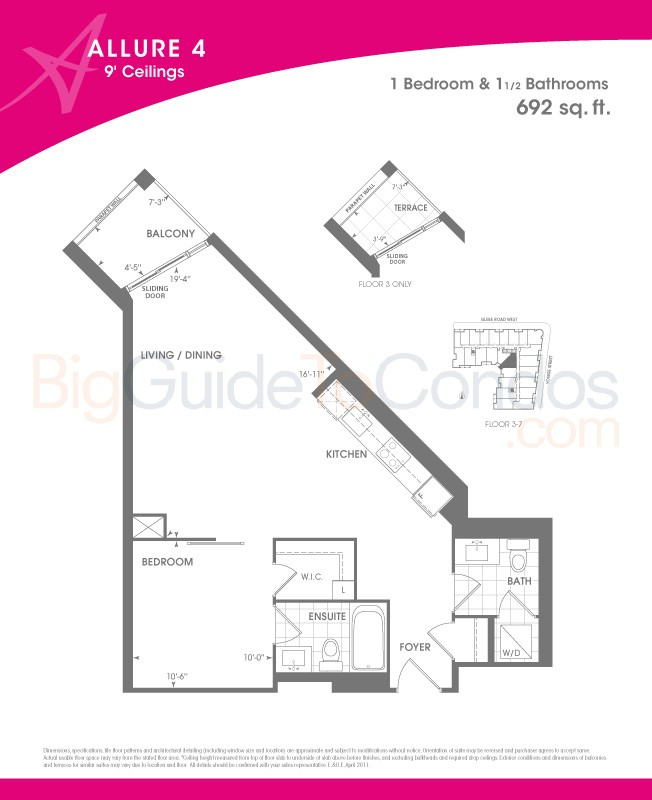 Allure Condos Reviews Pictures Floor Plans Listings