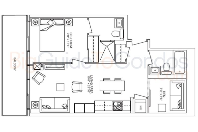 E Condos Floor Plans